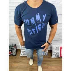 Camiseta Tommy DFC Azul Marinho - CITH132 - Queiroz Distribuidora Multimarcas