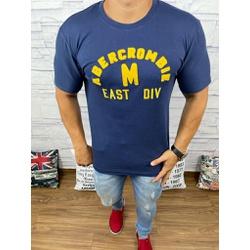 Camiseta Abercrombie Marinho - CABR135 - RP IMPORTS