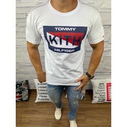 Camiseta Tommy DFC Branco - CITH133 - Queiroz Distribuidora Multimarcas
