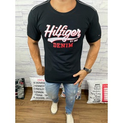 Camiseta Tommy DFC Preto - CITH143 - Queiroz Distribuidora Multimarcas