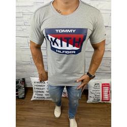 Camiseta Tommy DFC Cinza - CITH134 - Queiroz Distribuidora Multimarcas