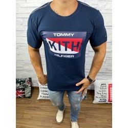 Camiseta Tommy DFC Marinho - CITH136 - Queiroz Distribuidora Multimarcas