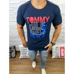 Camiseta Tommy DFC Marinho - CITH141 - Queiroz Distribuidora Multimarcas