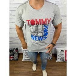 Camiseta Tommy DFC Cinza - CITH140 - Queiroz Distribuidora Multimarcas