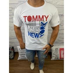 Camiseta Tommy DFC Branco - CITH138 - Queiroz Distribuidora Multimarcas