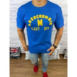 Camiseta Abercrombie Azul Royal - CABR137 - RP IMPORTS