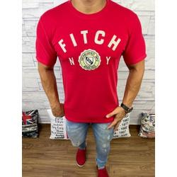Camiseta Abercrombie Vermelho - CABR134 - RP IMPORTS