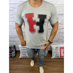 Camiseta Tommy DFC Cinza - CITH151 - Queiroz Distribuidora Multimarcas