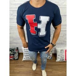 Camiseta Tommy DFC Marinho - CITH150 - Queiroz Distribuidora Multimarcas