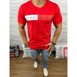 Camiseta Tommy DFC Vermelho - CITH153 - Queiroz Distribuidora Multimarcas
