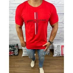 Camiseta Tommy DFC Vermelho - CITH166 - BARAOMULTIMARCAS