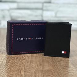 Porta Cartão Tommy Conforte Preto - TH-0088 - Out in Store