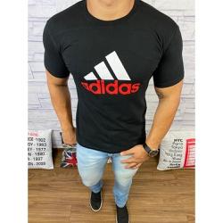 Camiseta Adid Preto⭐ - CADD08 - Queiroz Distribuidora Multimarcas