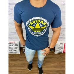 Camiseta Adid Azul Marinho⭐ - Shopgrife