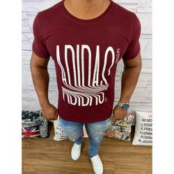 Camiseta Adid Vinho⭐ - CADD32 - VITRINE SHOPS