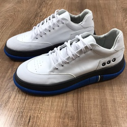 Tenis Osk Hybrid Branco Solado Azul - TOSK01 - Out in Store