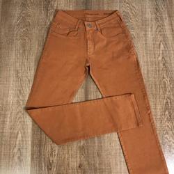 Calça Jeans Calvin Klein - Caramelo⭐ - CK1 - DROPA AQUI