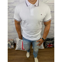 Polo TH Branco⭐ - POTH31 - Out in Store