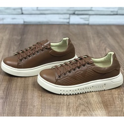 Tenis Armani Marrom - TAR02 - Out in Store