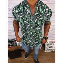 Camisa Social Manga Curta Rv⭐ - RVCT35 - Out in Store
