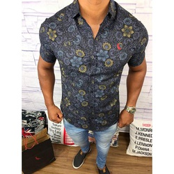 Camisa Social Manga Curta Rv⭐ - RVCS55 - Out in Store