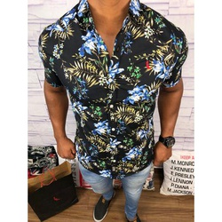 Camisa Social Manga Curta Rv⭐ - RVCJ88 - Out in Store