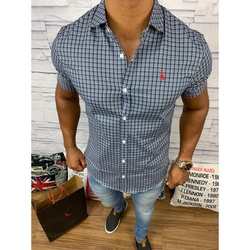 Camisa Social Manga Curta Rv⭐ - RVCL85 - Out in Store