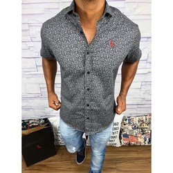 Camisa Social Manga Curta Rv⭐ - RVCW48 - Out in Store