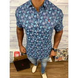 Camisa Social Manga Curta Rv⭐ - RVCO35 - Out in Store