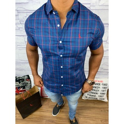 Camisa Social Manga Curta Rv⭐ - RVCXE34 - Out in Store