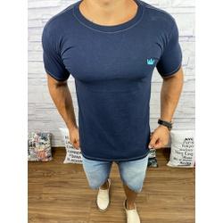Camiseta OSK Azul Marinho ⭐ - COK63 - Queiroz Distribuidora Multimarcas
