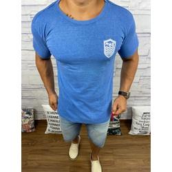 Camiseta OSK Azul Royal ⭐ - COK64 - Queiroz Distribuidora Multimarcas