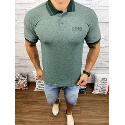Polo HB Verde Musgo⭐ - PHBS20 - Out in Store