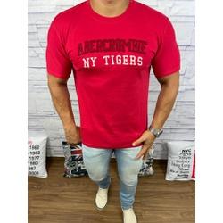 Camiseta Abercrombie Vermelho Bombeiro - CABR71 - Out in Store