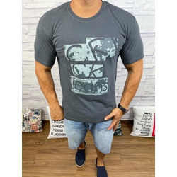 Camiseta CK Chumbo - Shopgrife