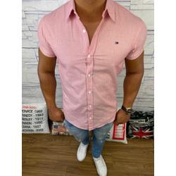 Camisa Manga Curta Tommy - Vermelho Claro ⭐ - cmst... - RP IMPORTS