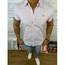 Camisa Manga Curta Tommy - Roxo Medio ⭐ - cmsth7 - RP IMPORTS