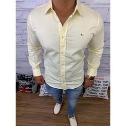 Camisa Manga Longa Aramis Plus Size - Amarela⭐ - C... - RP IMPORTS