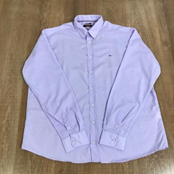 Camisa Manga Longa Aramis Plus Size - Lilás Lisa⭐ ... - DROPA AQUI
