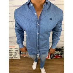 Camisa Social Jeans Jj - GHJ25 - RP IMPORTS