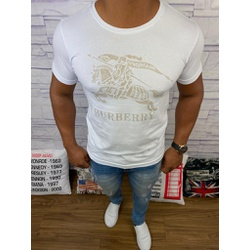 Camiseta Burberry Branca ⭐ - bbr04 - Out in Store