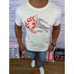 Camiseta Burberry Creme⭐ - Shopgrife