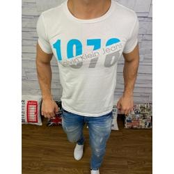 Camiseta Calvin Klein - Branca⭐ - CALV11 - VITRINE SHOPS