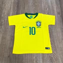 Camiseta Seleção - Simples Infantil⭐ - CMB100 - DROPA AQUI