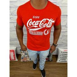Camiseta Coca-Cola - Vermelha⭐ - COCA2 - DROPA AQUI