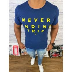 Camiseta Ellus - Azul Marinho ⭐ - E1 - DROPA AQUI