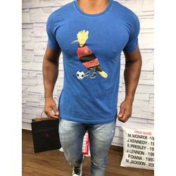 Camiseta Rsv Azul ⭐ - CMTRV38 - VITRINE SHOPS