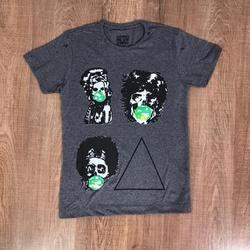 Camiseta Sergio K - Chumbo ⭐ - sk03 - Queiroz Distribuidora Multimarcas