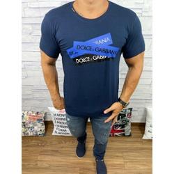 Camiseta Dolce g Marinho - CDG60 - RP IMPORTS