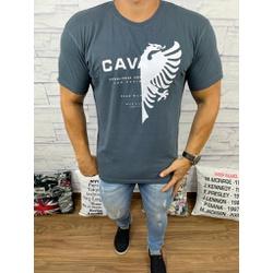 Camiseta Cavalera Cinza - CAV51 - Queiroz Distribuidora Multimarcas